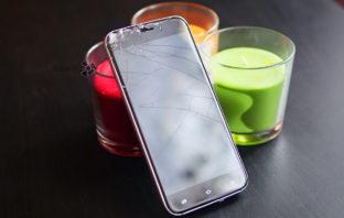 Обзор смартфона UMi Diamond с разбитым экраном