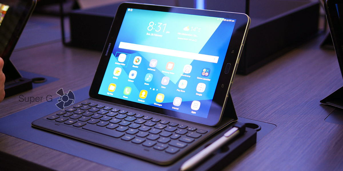 Samsung анонсировала планшеты Galaxy Tab S3 и Galaxy Book