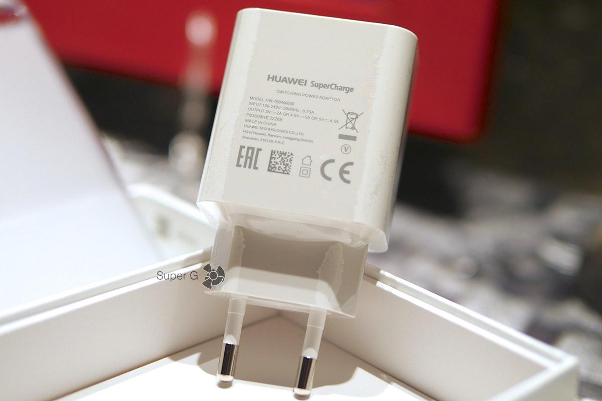 Зарядное устройство SuperCharge из комплекта Huawei P10