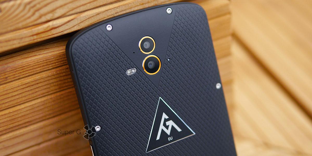 Как работают две задние камеры в AGM X1? Сравнение с iPhone 7 Plus