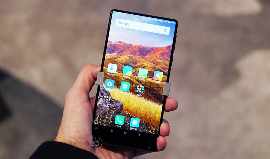 Xiaomi Mi MIX в реальной жизни