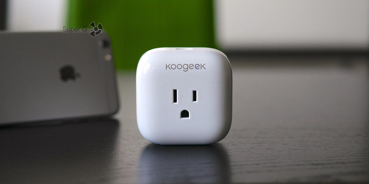 Обзор умной розетки Koogeek SmartPlug P1 - совместима с Apple HomeKit