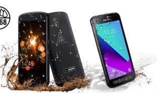 Samsung Galaxy Xcover 4 против AGM X1 - неравный бой