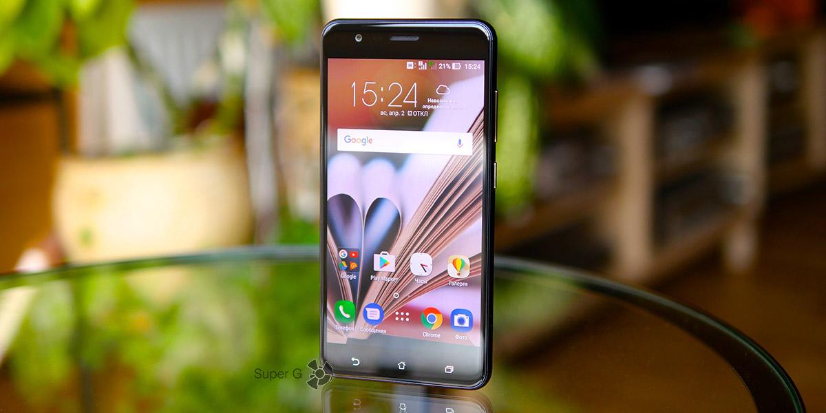Обзор смартфона Asus ZenFone 3 Zoom ZE553KL