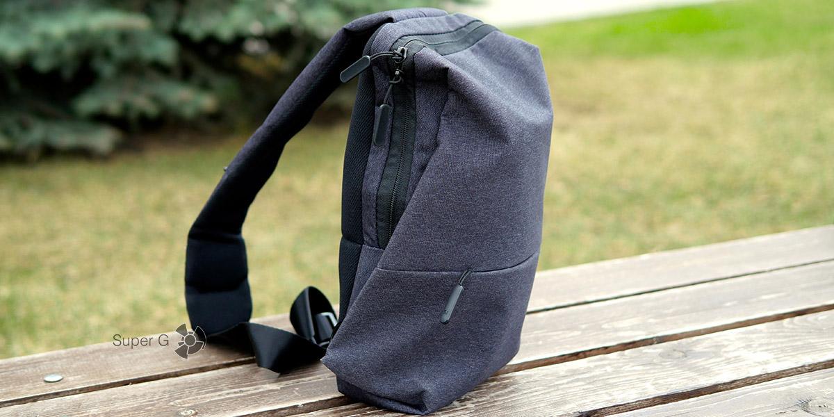 Обзор рюкзака Xiaomi Sling bag