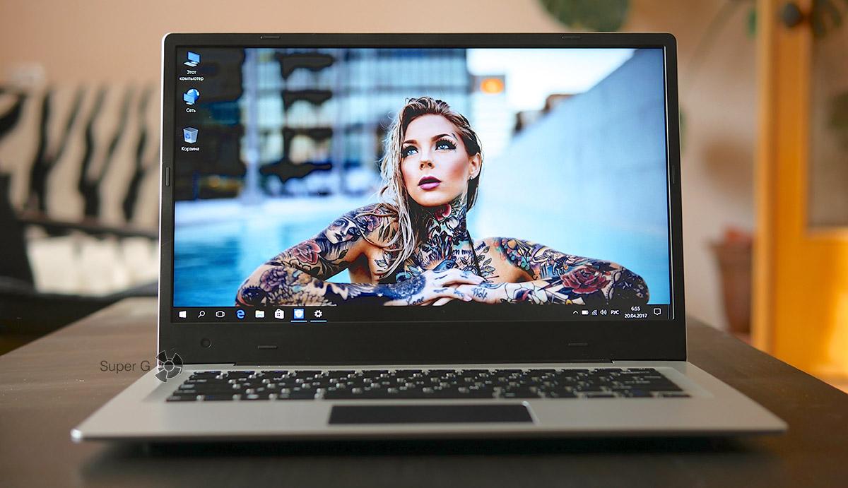 На Jumper EXbook 3 стоит лицензионный и активированный Windows 10