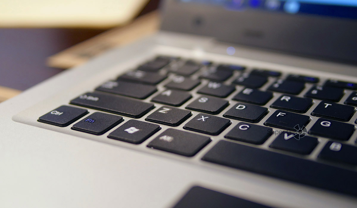 Клавиатура Jumper EZbook 3 - удобство набора