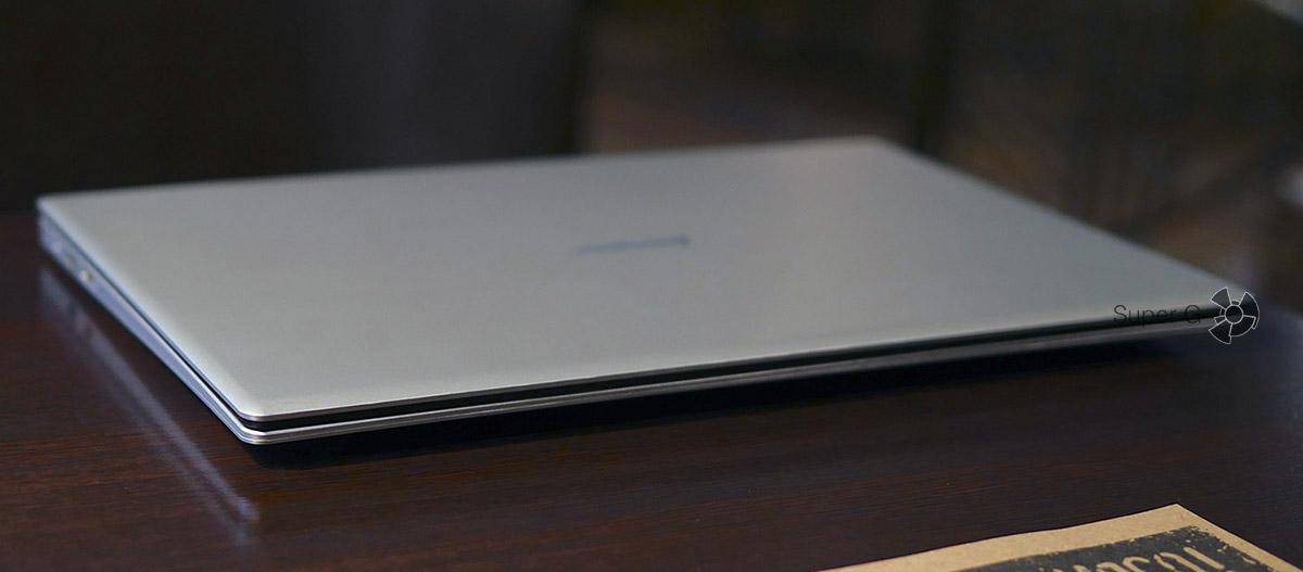 Ноутбук Jumper EZbook 3 - толщина и габариты