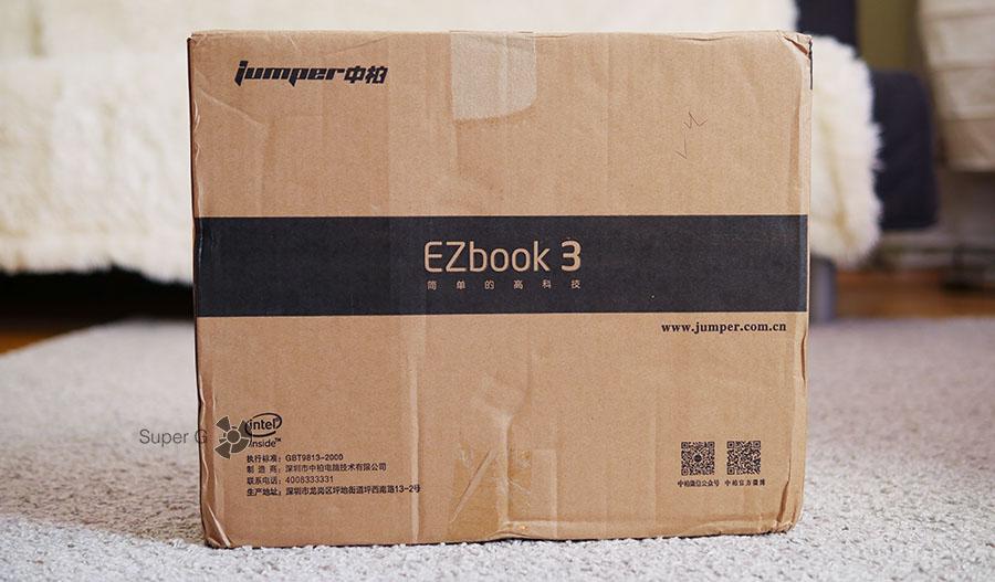 Коробка из-под Jumper EZbook 3