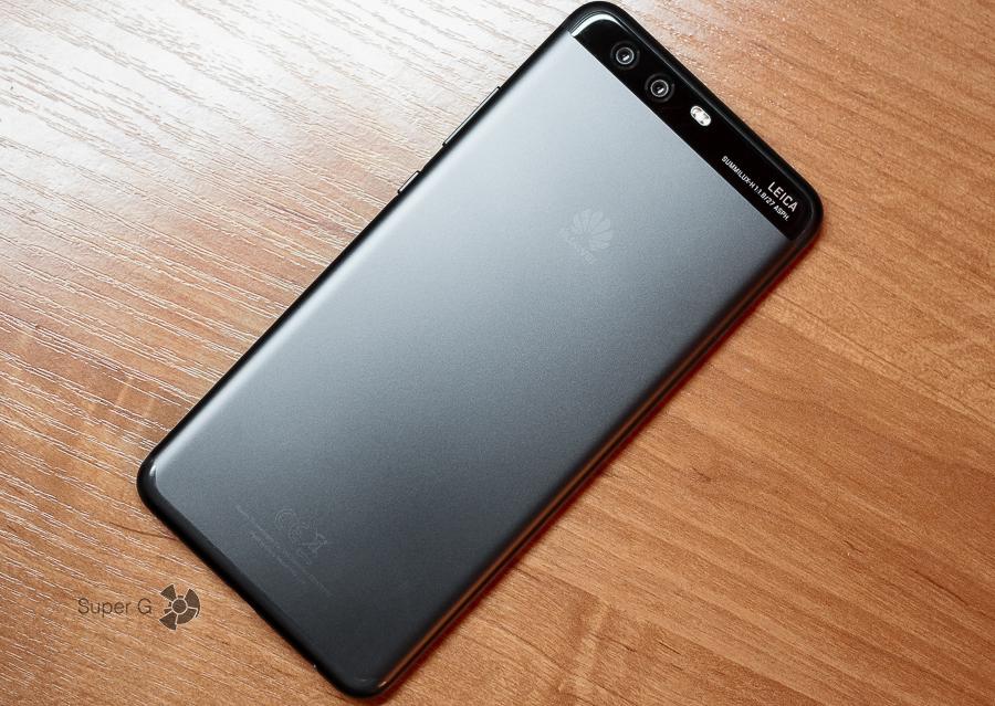 Задняя сторона Huawei P10 Plus