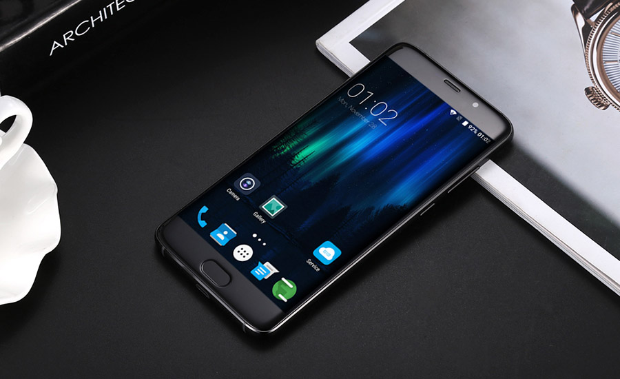 Elephone S7 в черном цвете