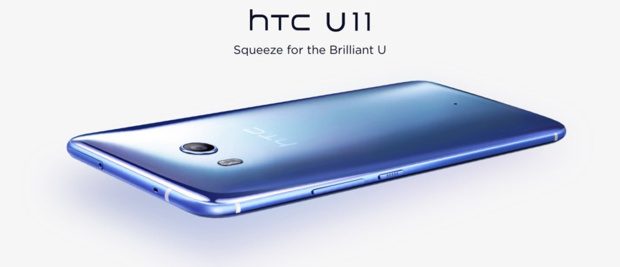 HTC U 11 Edge Sense