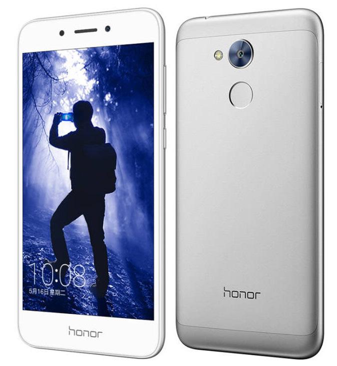 Honor 6A серебристый