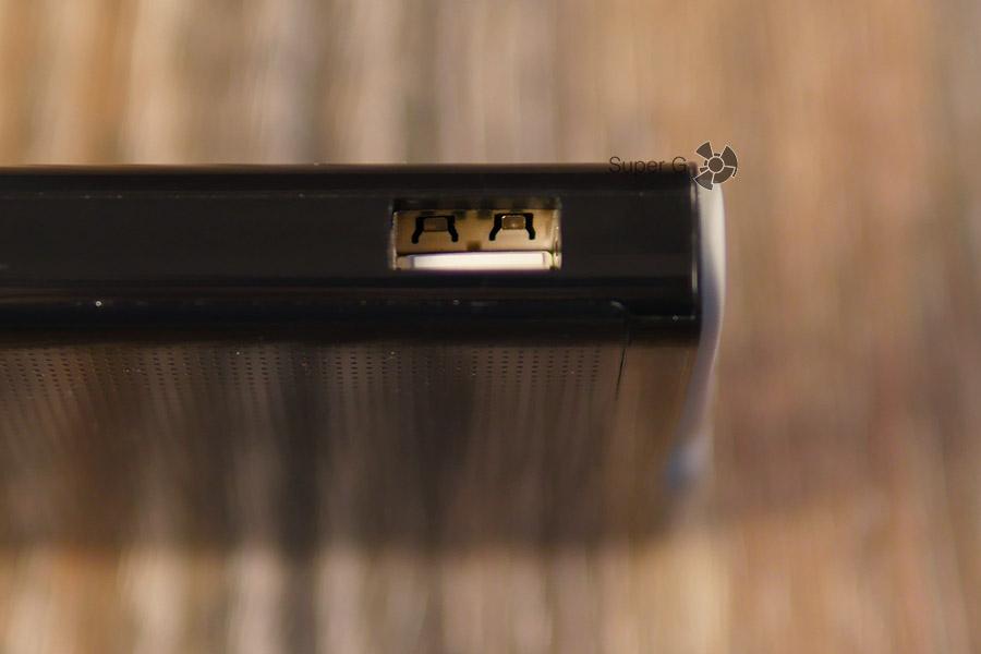 Боковой разъём для зарядки смартфонов - Energizer UE10004