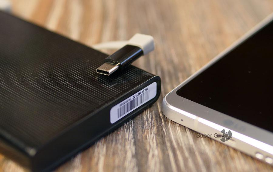 Переходник на USB type-C для Energizer UE10004 приходится докупать отдельно