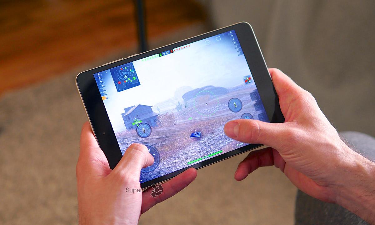 Играть на планшете Xiaomi Mi Pad 3 очень удобно