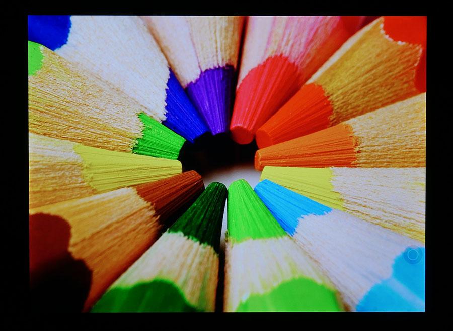 Тест экрана планшета Xiaomi Mi Pad 3 (цвета)