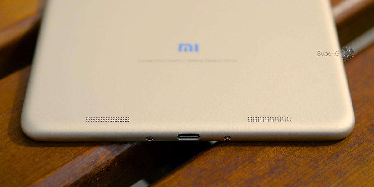 Xiaomi Mi Pad 3 имеет два динамика