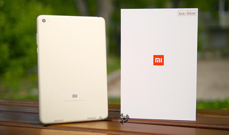 Распаковка и коробка от Xiaomi Mi Pad 3