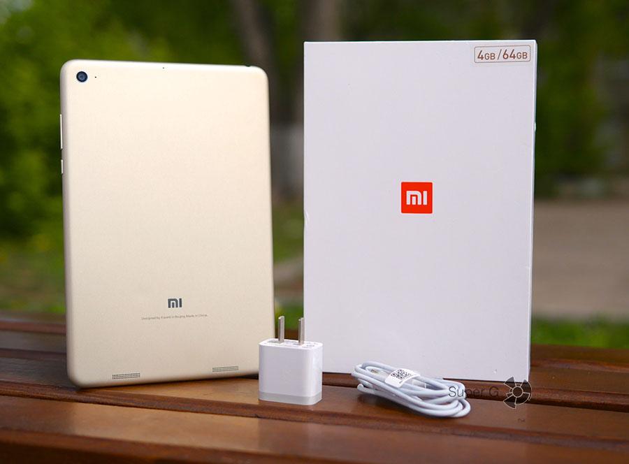 Комплектация Xiaomi Mi Pad 3