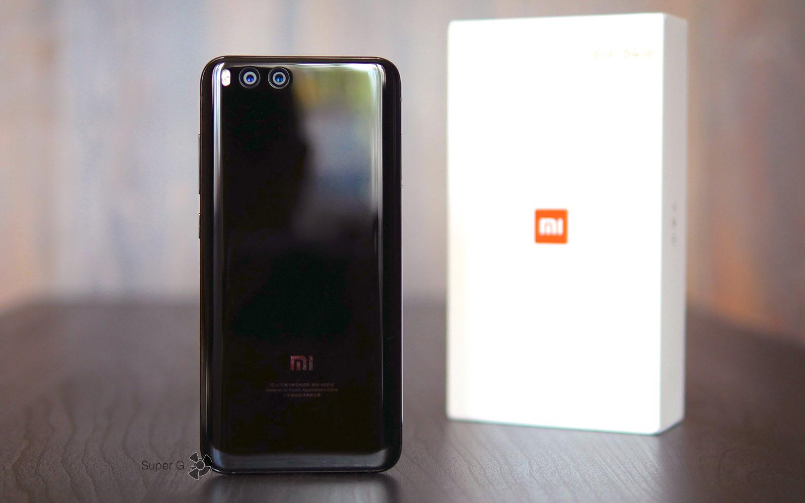 Коробка из-под Xiaomi Mi6