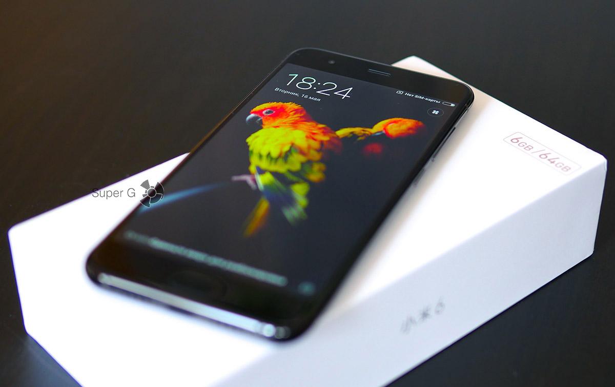 Смартфон Xiaomi Mi6 - первые впечатления
