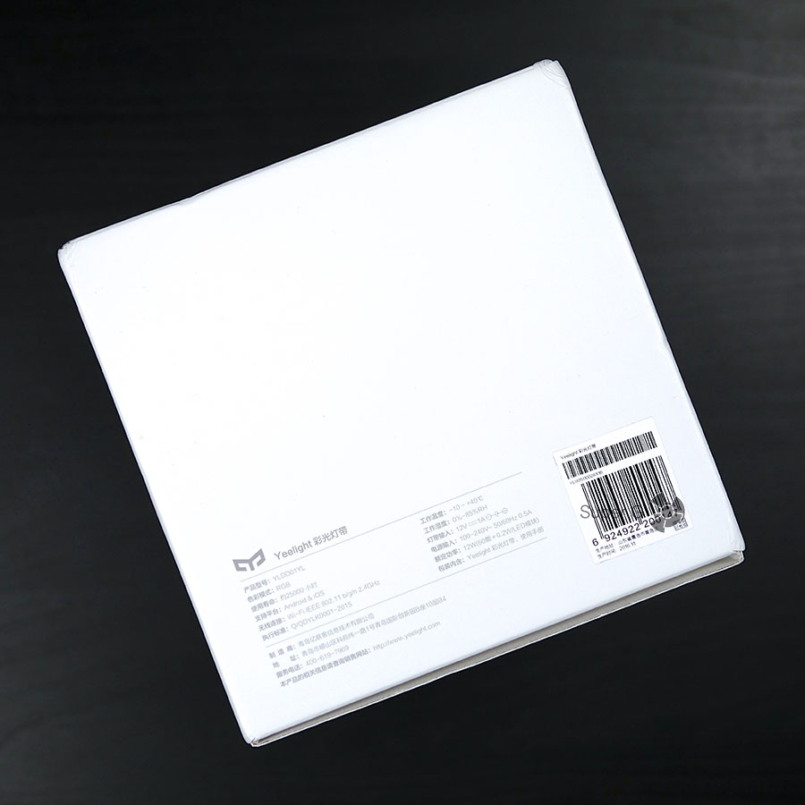 Краткие характеристики Xiaomi Yeelight Lightstrip