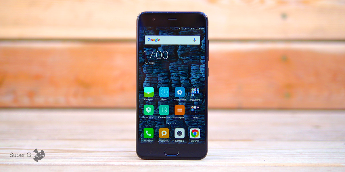 Обзор смартфона Xiaomi Mi6