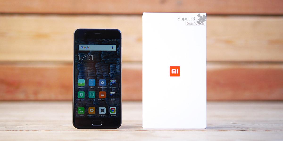 Распаковка Xiaomi Mi6 и компектация