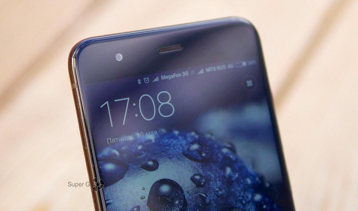 Фронтальная камера Xiaomi Mi6