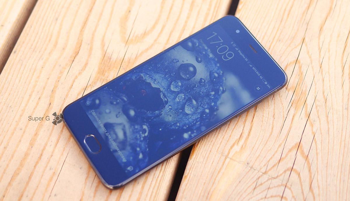 Запас яркости экрана Xiaomi Mi6
