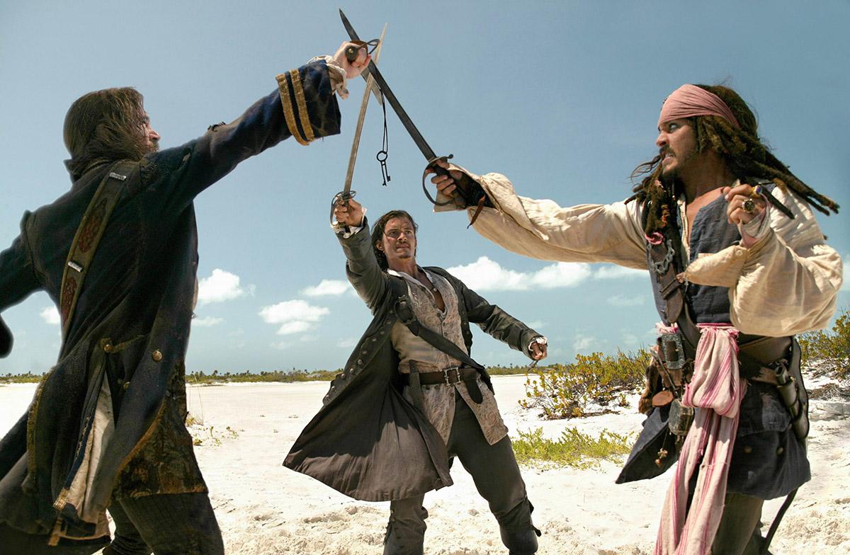 Кадр из Пиратов Карибского моря: Сундук мертвеца