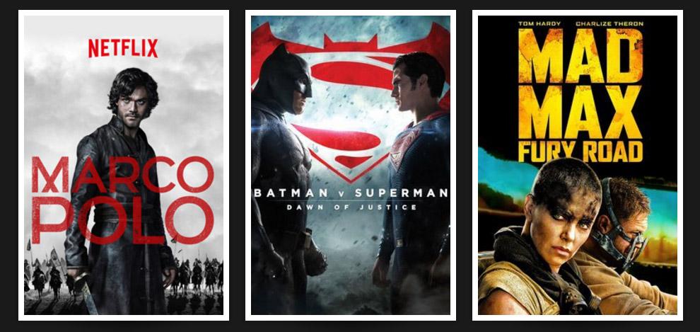 Сериалы и фильмы с поддержкой Dolby Vision
