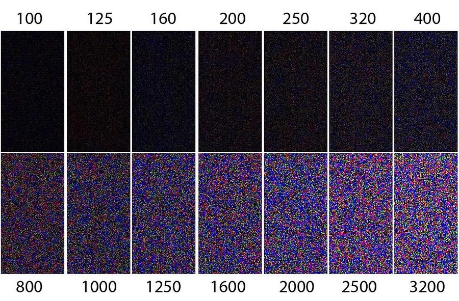 Цифровой шум на фотографиях