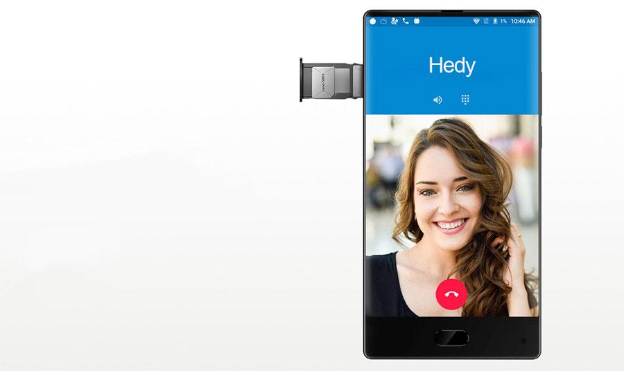 Maze Alpha поддерживает работу с двумя Nano SIM-картами и LTE 20 band