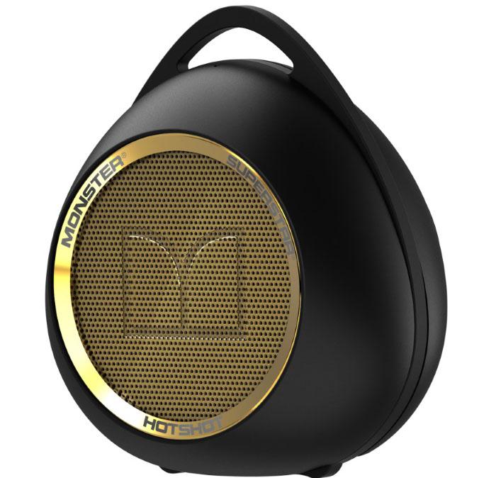 Monster SuperStar HotShot Bluetooth Black Gold