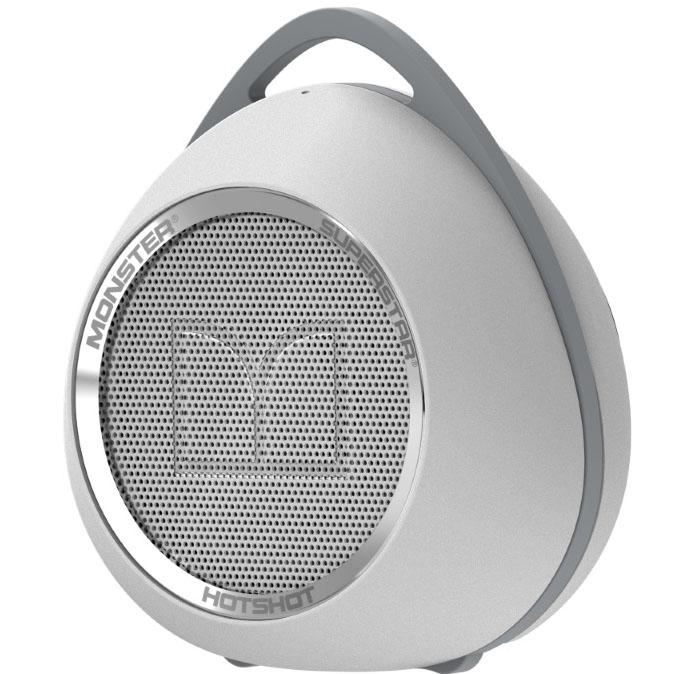Monster SuperStar HotShot Bluetooth White
