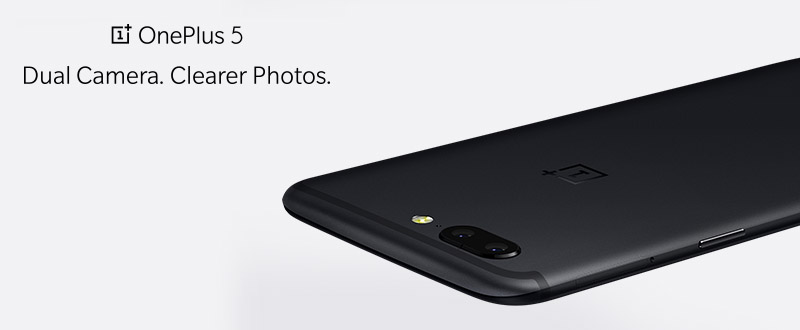 OnePlus 5 с двумя камерами