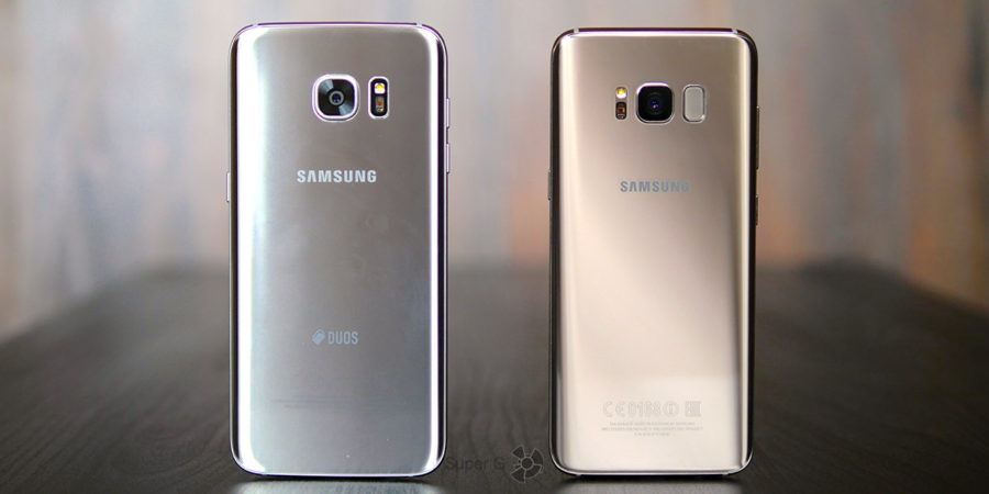 Samsung Galaxy S7 Edge и Samsung S8 - сравнение смартфонов