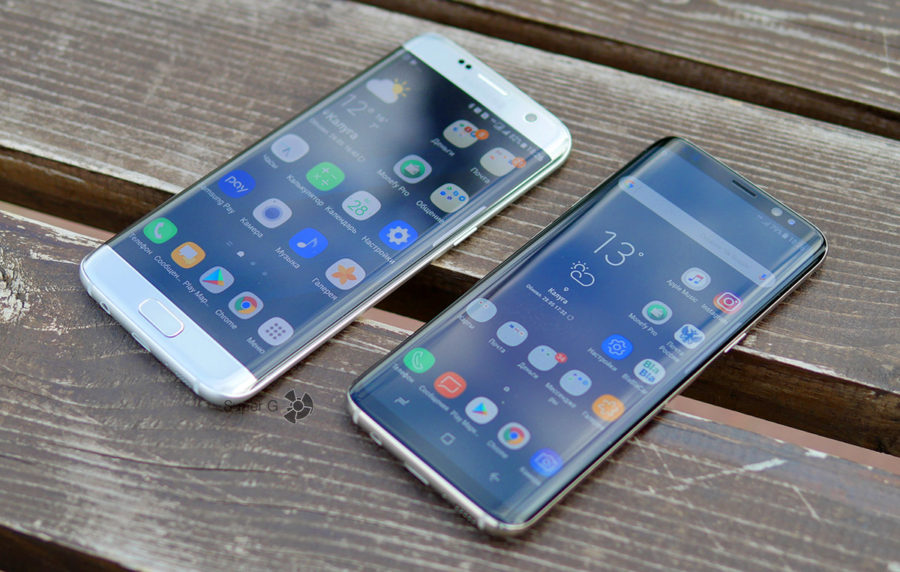Цены на Samsung Galaxy S7 Edge и Samsung Galaxy S8