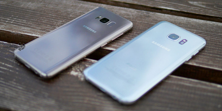 Время автономной работы Samsung Galaxy S8 и Samsung Galaxy S7 Edge практически не отличается