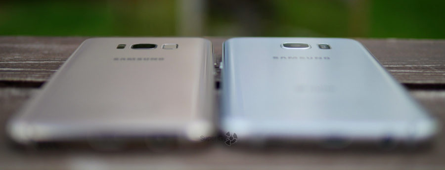 Сравнение камер Samsung Galaxy S8 и Samsung Galaxy S7 Edge