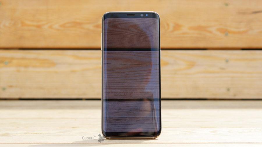 """""""Безграничный"""" дисплей Samsung Galaxy S8"""
