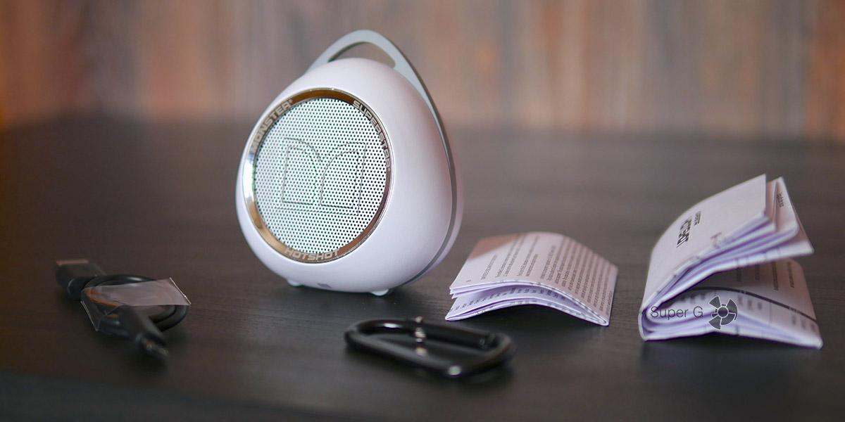 Комплектация Monster SuperStar HotShot Bluetooth