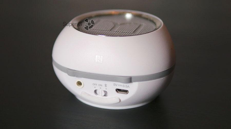 Разъёмы Monster SuperStar HotShot Bluetooth