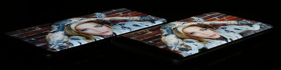 Экран Samsung Galaxy S8 слева, дисплей Samsung Galaxy S7 Edge справа (2)