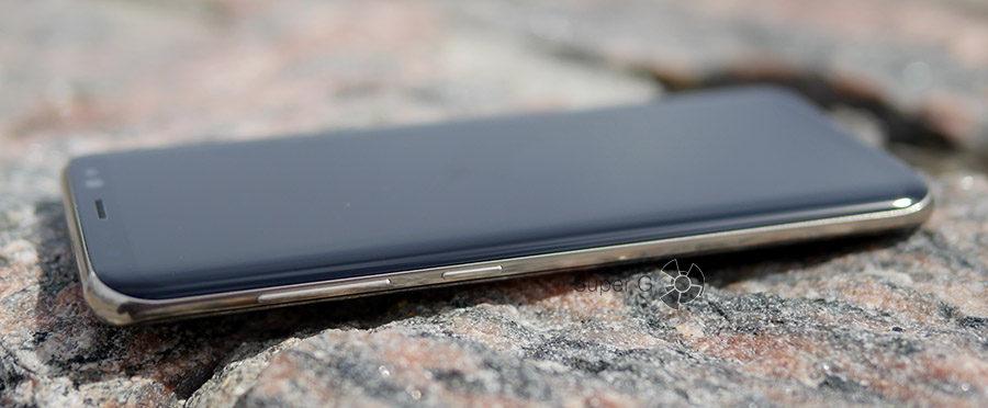Клавиши регулировки громкости и кнопка Bixby на Samsung Galaxy S8