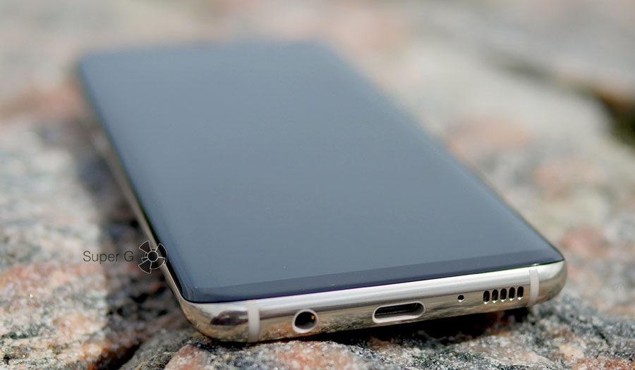Разъёмы Samsung Galaxy S8