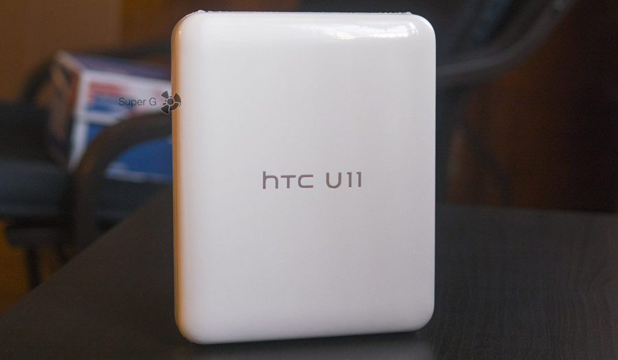 Коробка из-под HTC U11