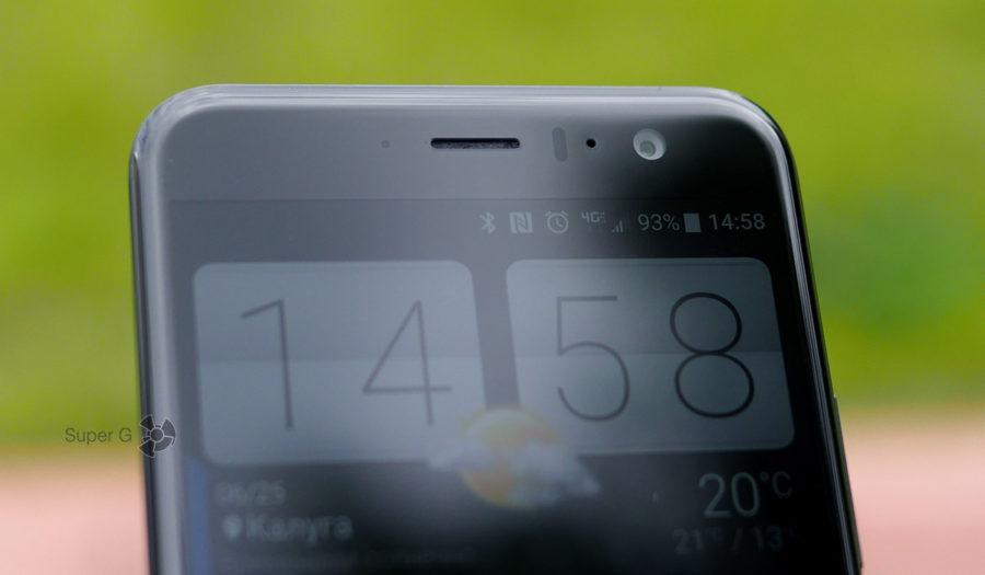 Фронтальная камера HTC U11